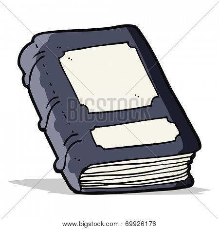 cartoon old book