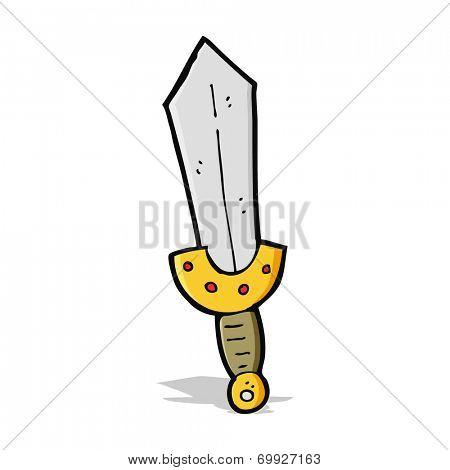 cartoon viking sword