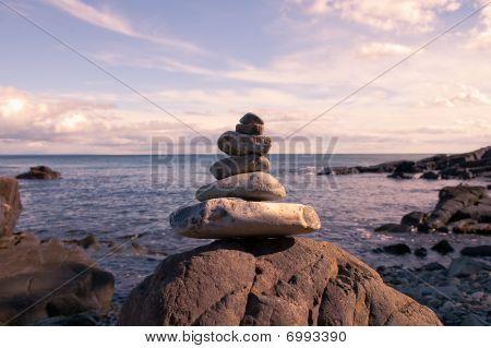 Bold Coast Skipping Stones