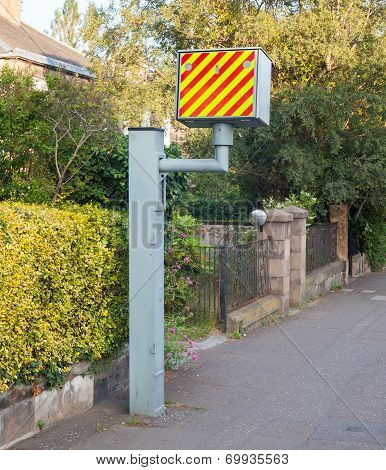 Uk Static Speed Camera