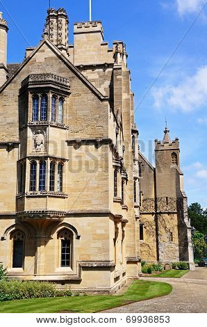 Magdalen College, Oxford.