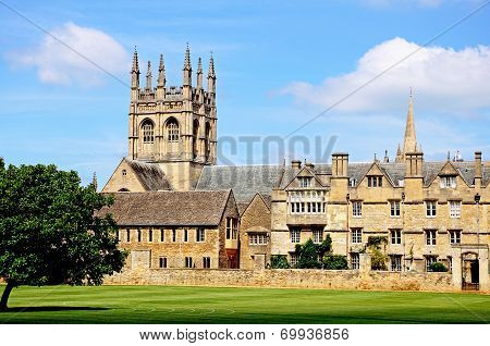 Merton College and Chapel, Oxford.