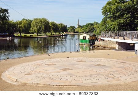 River Avon, Stratford-upon-Avon.