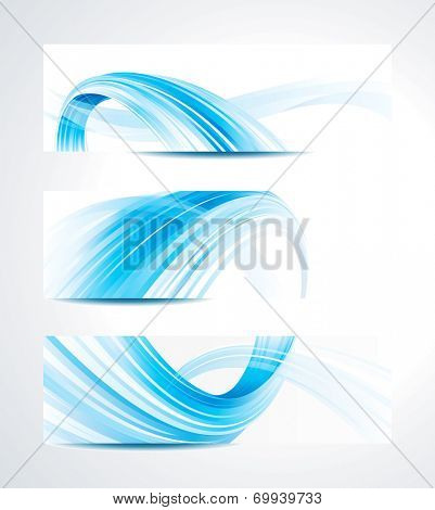 Abstract technology header background. Raster.
