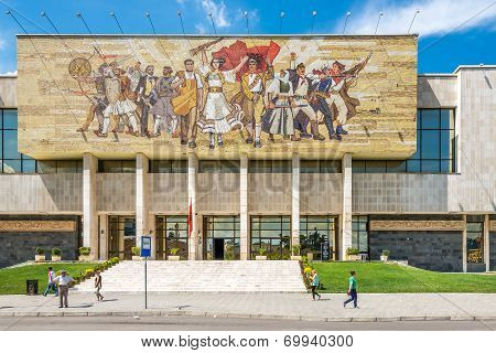 National History Museum In Tirana.