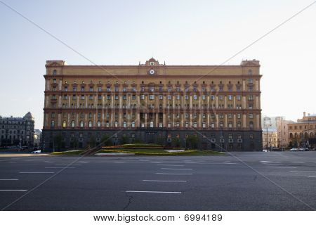 Antiguo edificio de la Kgb