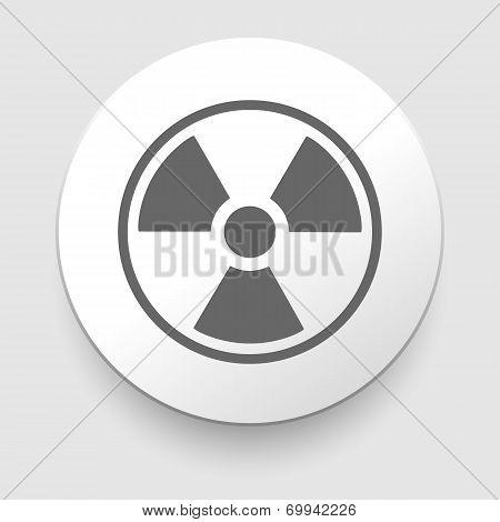 Nuclear Symbol Icon Vector