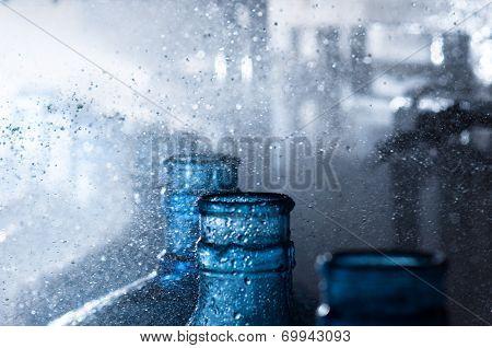 washing bottles