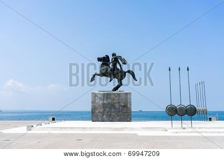 Alexander The Great, Spears Of His Soldiers, Thessaloniki, Greece