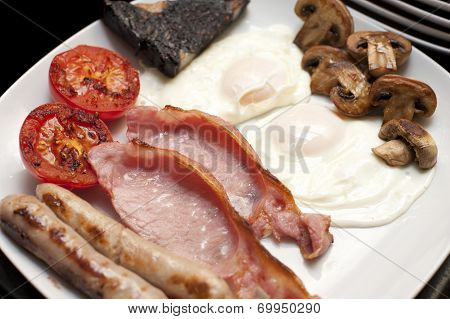 Full Cooked English Breakfast
