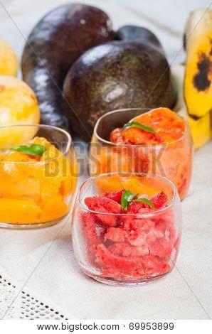 frozen fruit sherbet