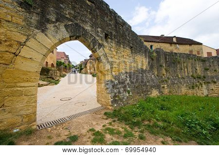 Citywall Of Domme