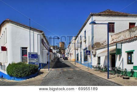 Street of Mertola village