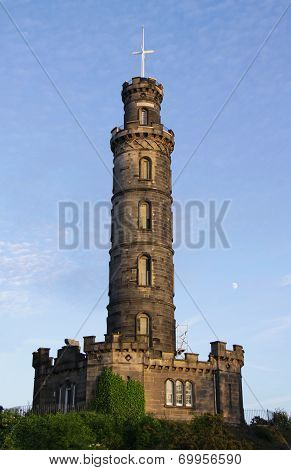 Nelson Monument, Calton Hill, Edinburgh, Scotland