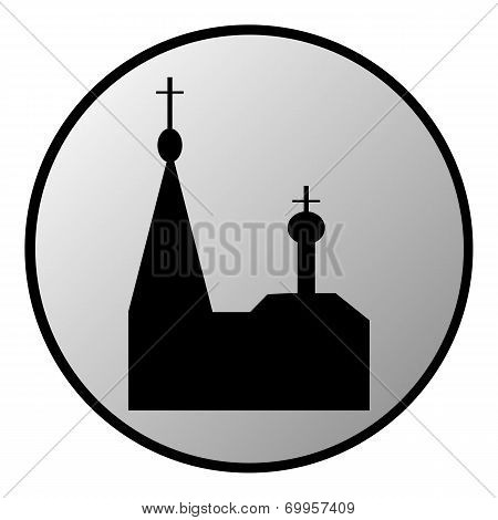 Orthodox Church Button