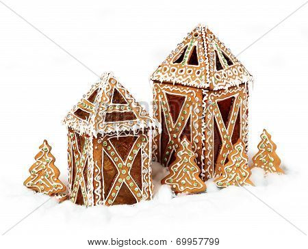 Gingerbread Cookies Lantern Cottages