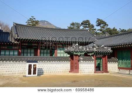 Yeongsajae Near The Taewonjeon In Gyeongbokgung, Korea