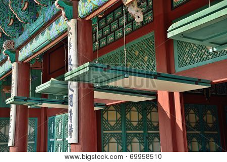 Korean Traditional Door Open System For Summer Season