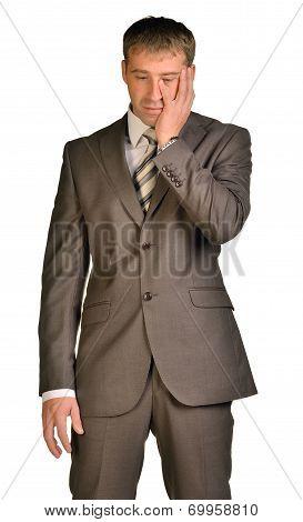Businessman had big problems