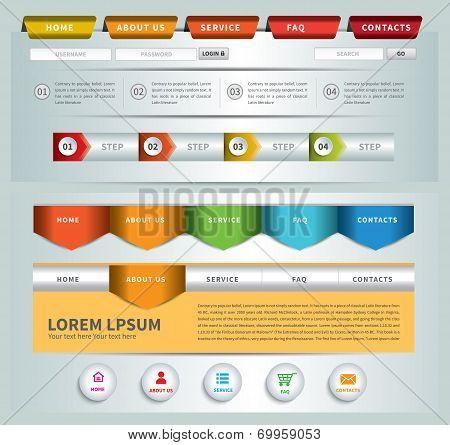 web site template