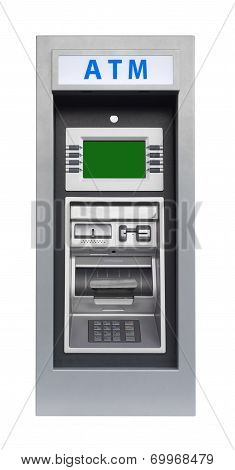 ATM machine, isolated