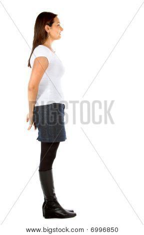 Fullbody Casual Woman
