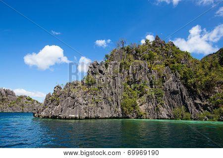 Wonderful Lagoon In El Nido, Philippines