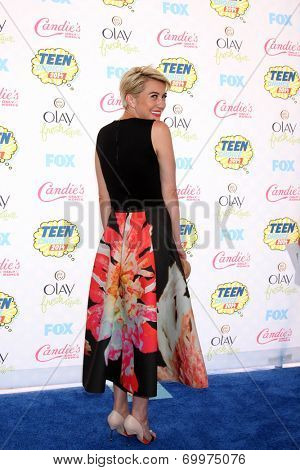 LOS ANGELES - AUG 10:  Chelsea Kane at the 2014 Teen Choice Awards at Shrine Auditorium on August 10, 2014 in Los Angeles, CA