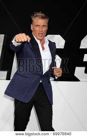 LOS ANGELES - AUG 11:  Dolph Lundgren at the