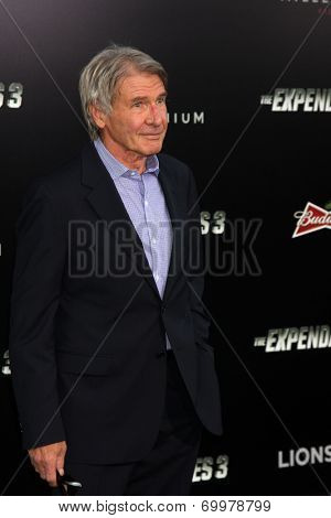 LOS ANGELES - AUG 11:  Harrison Ford at the