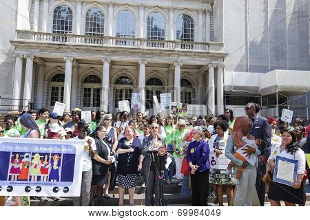 NYC Breastfeeding Leadership Council by City Hall