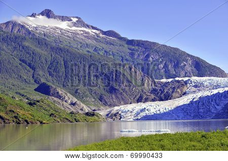 Mendenhall Glacier, Tongass National Forest, Alaska