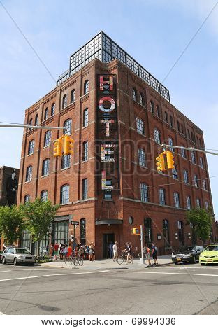 Boutique  Wythe Hotel in Williamsburg section in Brooklyn
