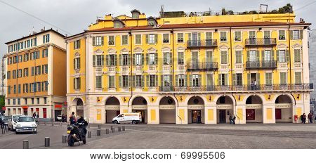 City Of Nice - Architecture Of Place Garibaldi In Vieille Ville
