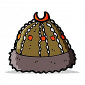 image of raider  - cartoon barbarian raider hat - JPG