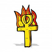 picture of ankh  - cartoon ankh symbol - JPG
