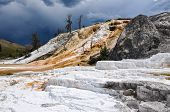 picture of mammoth  - Mammoth Terraces - JPG
