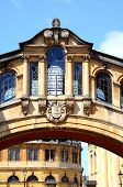 picture of skyway bridge  - View of the Bridge of Sighs along New College Lane which links two parts of Hertford College Oxford Oxfordshire England UK Western Europe - JPG