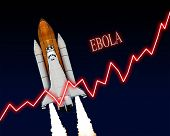 foto of epidemic  - Ebola outbreak chart epidemic virus disease - JPG
