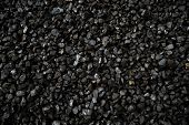 picture of boiler  - background of pea coal from New Zealand brown coal mines commonly used in steam boilers - JPG