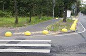 stock photo of hemisphere  - Parking barrier  - JPG