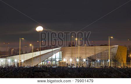 Tourist Center In Birkenau