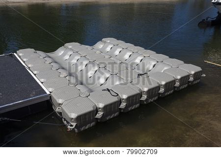 Floating Watercraft Dock