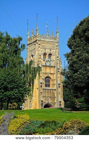 Evesham Abbey.