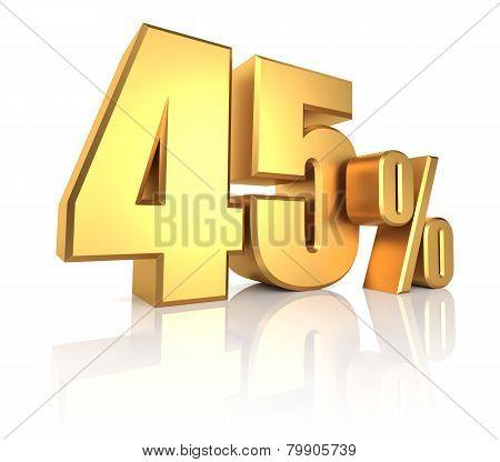 Gold 45 Percent