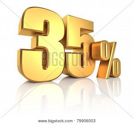 Gold 35 Percent