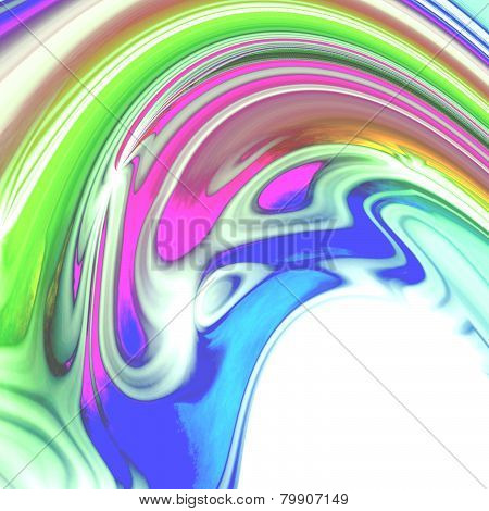 Abstract Iridescent Colored Texture Or Background