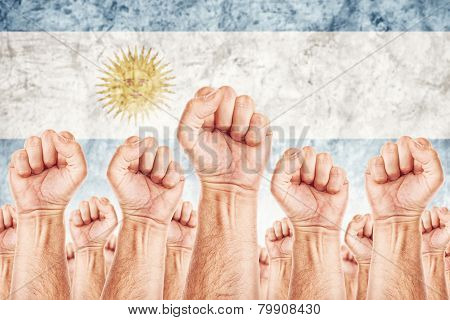 Argentina Labour Movement, Workers Union Strike