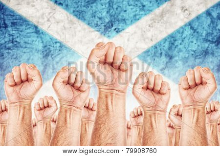 Scotland Labour Movement, Workers Union Strike