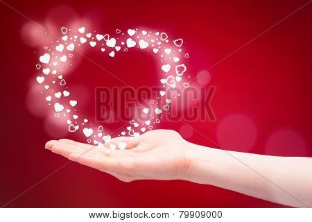 Love As A Gift - Heart In A Hand